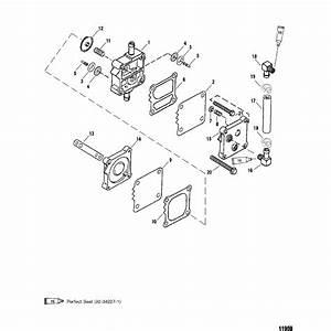 Genuine Mercury  U0026 Mercruiser Parts  Fuel Pump