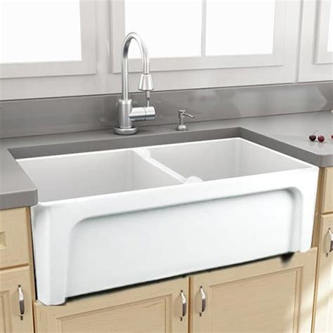 used kitchen sink durable fireclay kitchen sinks by nantucket 3106