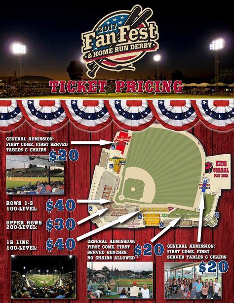 fan fest tickets 2017 cal league all star game fanfest visalia rawhide tickets