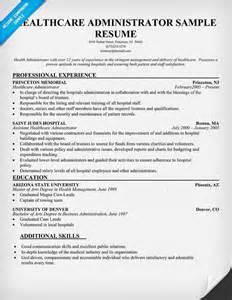 healthcare administrator resume exles pin by resume companion on resume sles across all