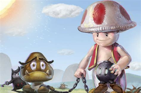 Realistic Mario Characters Are Simultaneously Horrifying