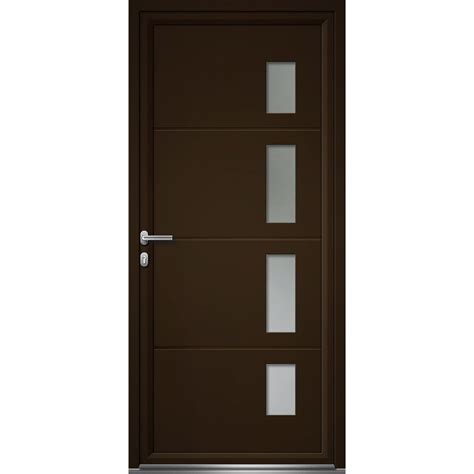 porte chambre leroy merlin porte d 39 entrée sur mesure en aluminium artens