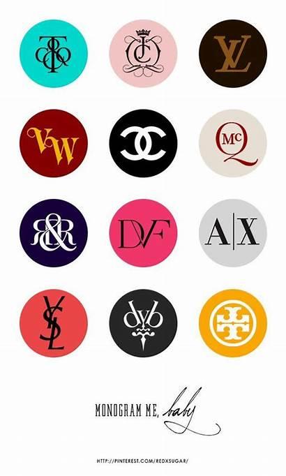 Brand Logos Brands Monogram Famous Branding Luxury