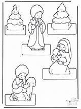 Kerststal Maken Kerst Craft Crib Kleuters Thema Kerstmis Knutselen Advent Juf Anke Lesidee Kleuren Kinderen Nativity Noel Kleurplaat Navidad Fargelegg sketch template