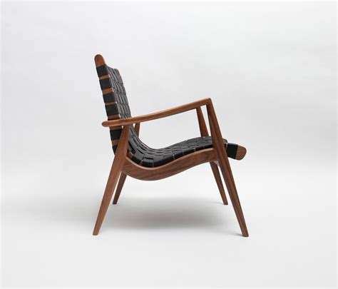 Designer Armchair by Woven Leather Armchair Armchairs From Smilow Design