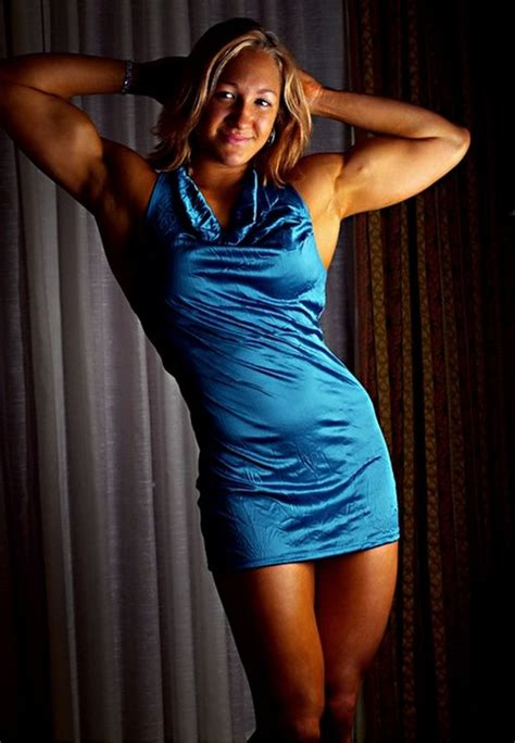 muscular womens dressed lauren quinn