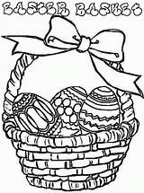 Coloring Easter Basket Pages Colouring Egg Eggs Printable Flower Clipart Empty Barbie Cliparts Gift Clip Template Baskets Library Pdf Butterfly sketch template