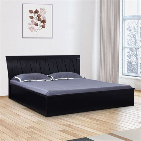 buy morgan engineered wood hydraulic storage king size bed