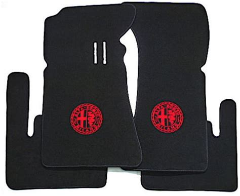 Alfa Romeo Floor Mats by Sell Bl Classic Logo Vel Floor Mats For Alfa Romeo