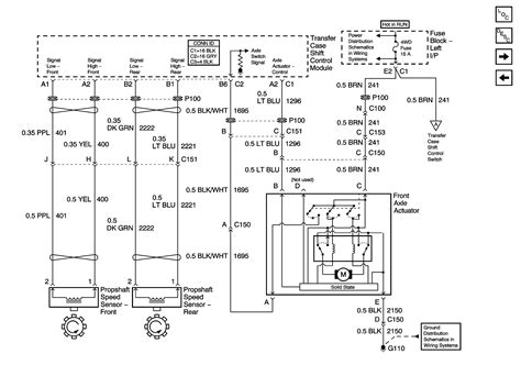 Chevy Transfer Case Wiring Schematic For
