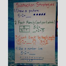 1000+ Images About Math Anchor Charts On Pinterest  Anchor Charts, Subtraction Strategies And