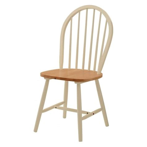 buy new style oak ivory wood dining chair at