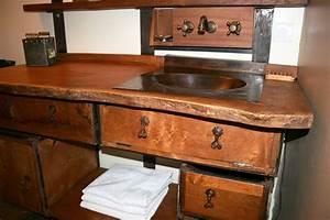 Meuble Bois Exotique : meuble salle de bain bois exotique avec des ~ Premium-room.com Idées de Décoration