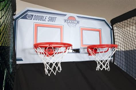 lifetime double shot arcade basketball system game room