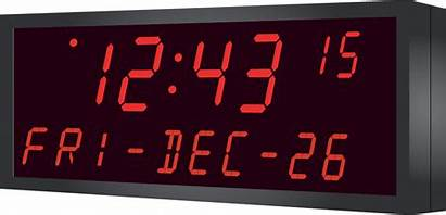Clock Display Date Text Digital Led Temperature