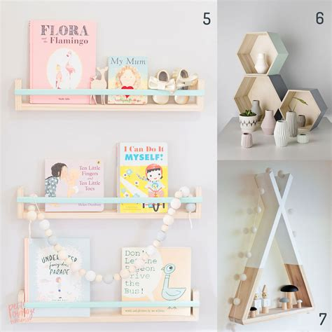 etagere murale chambre bebe etagere de chambre zoom etageres chambre enfant lit