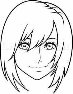 How to Draw Kairi From Kingdom Hearts Easy, Step by Step ...