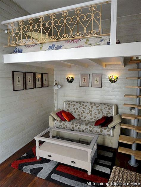 Awesome Attic Loft Bedroom by Best 25 Small Loft Apartments Ideas On Small