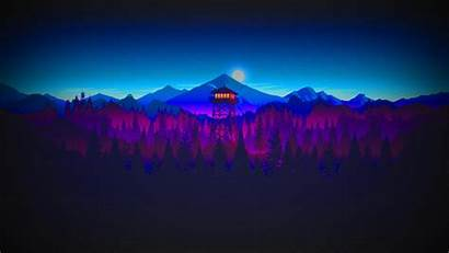 Firewatch Watchtower Wallpapers 4k Sunset Desktop Background