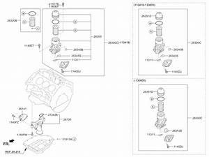 2005 Kia Sedona Engine Diagram Oil Filter