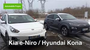 Essai Hyundai Kona Electrique : essai kia e niro hyundai kona lectrique youtube ~ Maxctalentgroup.com Avis de Voitures