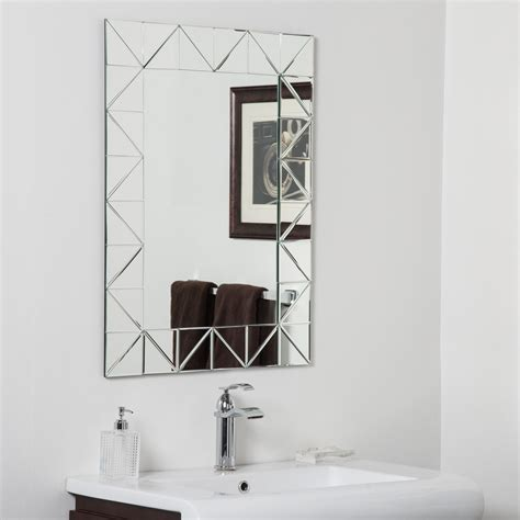 Bathroom Mirrors Miami by Accent Your Bath Vanity With This Miami Modern Bathroom