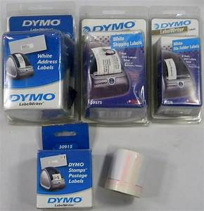 Used dymo labelwriter twin turbo label printer with labels for Dymo labelwriter 400 labels