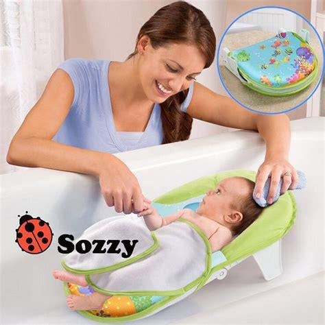 siege de bain bebe sozzy collapsible baby bath bed bath tub bath chair bath