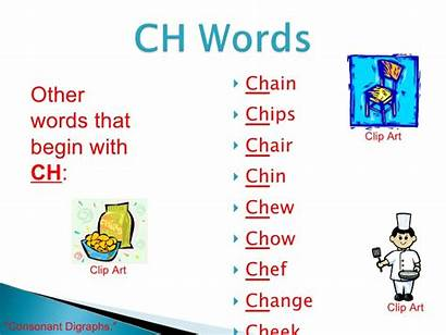 Clipart Ch Words Sound Word Cliparts