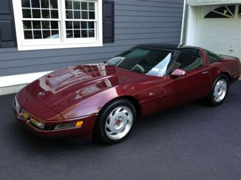 auto air conditioning service 1993 chevrolet corvette parking system buy used 1993 chevrolet corvette 40th anniversary edition hatchback 2 door 5 7l in cortlandt