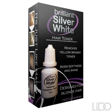 Brilliant Silver White Is A Temporary Toner And