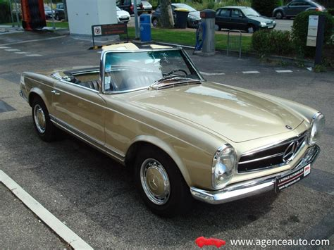 mercedes 280 sl pagode mercedes sl 280 pagode les annonces collection