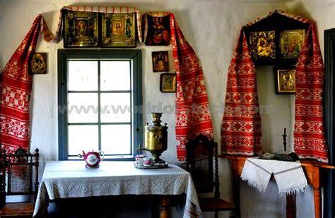 ukrainian decor  brought home yards  yards  red