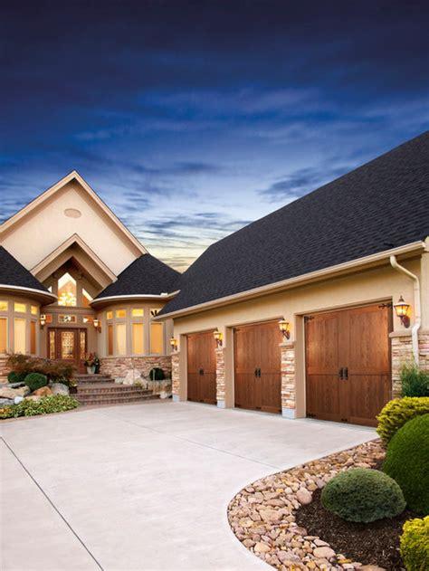 wood garage door home design ideas pictures remodel