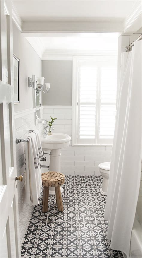 Bathroom floor tiles can add texture, pattern, colour and interest to your room. Trending: Cement Tile & Its Influence on Design - Curata