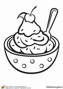 Creme Solaire Dessin : coloriage d une d licieuse glace aux fruits surmont e d une cerise ~ Melissatoandfro.com Idées de Décoration