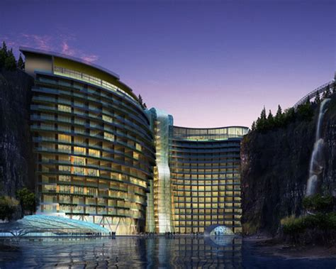 plans unveiled for shimao wonderland intercontinental hotel
