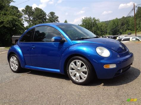 Volkswagen Beetle 2003 by 2003 Blue Lagoon Metallic Volkswagen New Beetle Gls 1 8t