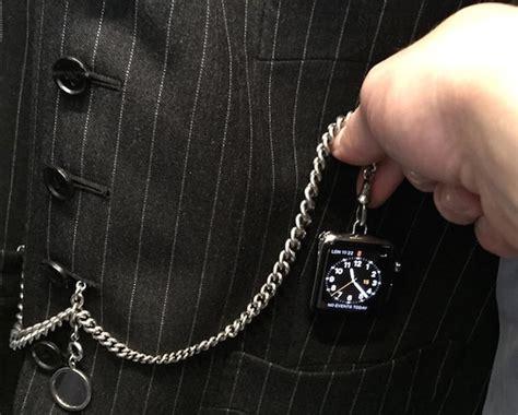 transformer apple en montre de poche c est possible iphoneaddict fr