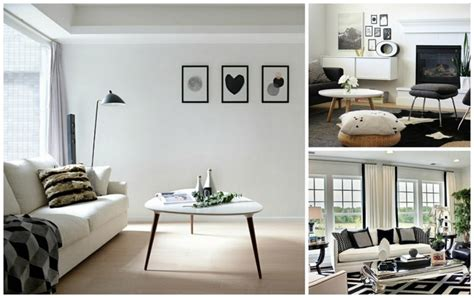 idee deco noir et blanc salon d 233 co noir et blanc pour salon en 50 id 233 es inspirantes