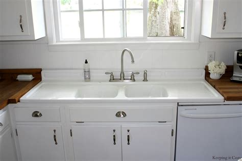 recycled kitchen sinks remodelaholic country kitchen with diy reclaimed wood 1760