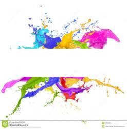 paint colorful colorful paint splash white background colourful paint