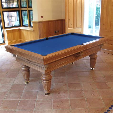 Traditional Pool Or Snooker Table