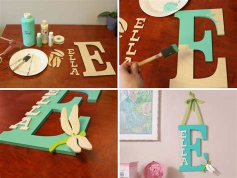 Make A Kids' Room Monogram From Wooden Letters