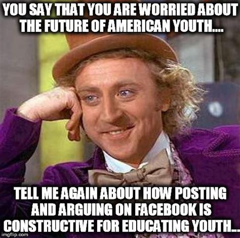 The Future Meme - creepy condescending wonka meme imgflip