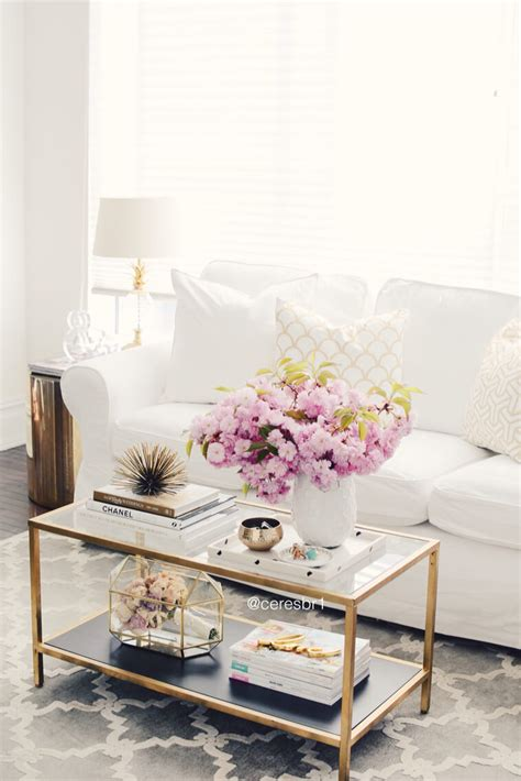cheap gold coffee table 37 best coffee table decorating ideas and designs for 2018