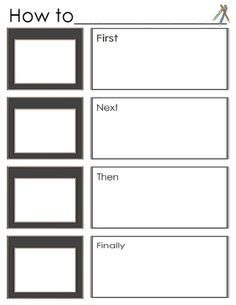 procedural writing template 1000 images about how to writing ideas on procedural writing writing and