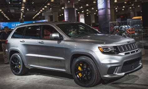 2020 Jeep Grand Cherokee Trackhawk Redesign, Release Date