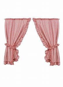 rideau bonne femme a carreaux vichy rouge et blanc rouge With rideaux à carreaux rouge et blanc