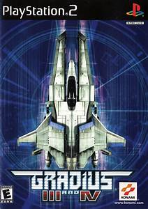 Gradius 3 And 4 Sony Playstation 2 Game